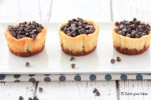 Mini Italian Chocolate Cheesecakes